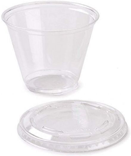 150 ml Plastict Cup with lid